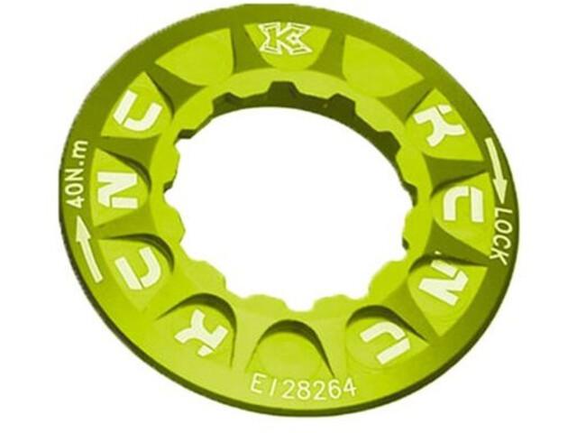 KCNC Lockring for Disc Brake Shimano Centerlock, yellow green